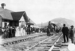 Paonia Train Depot