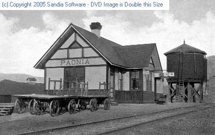Paonia depot water tank